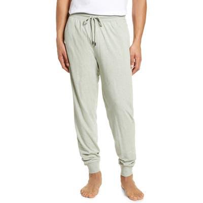 Daniel Buchler Stretch Cotton & Modal Pajama Pants, Green