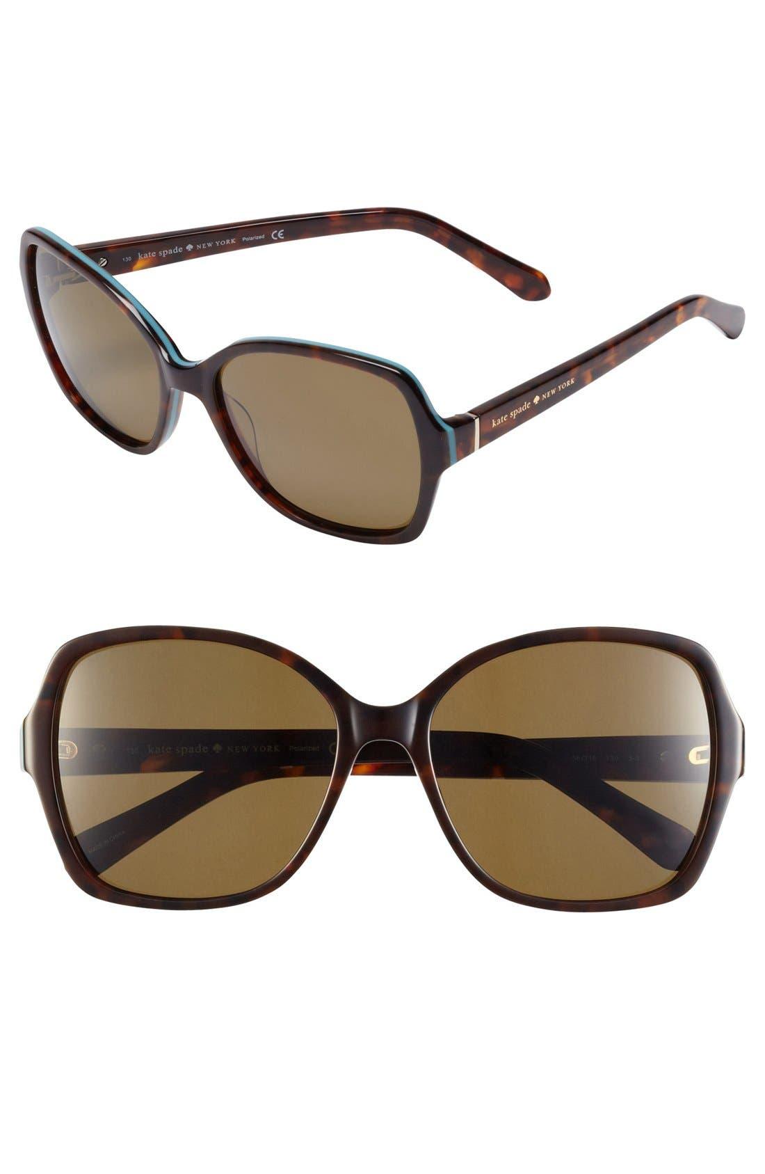 ,                             'cambria' 56mm polarized sunglasses,                             Main thumbnail 3, color,                             200