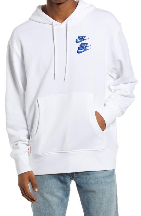 NIKE Sweatshirts SPORTSWEAR WORLD TOUR GRAPHIC HOODED SWEATSHIRT
