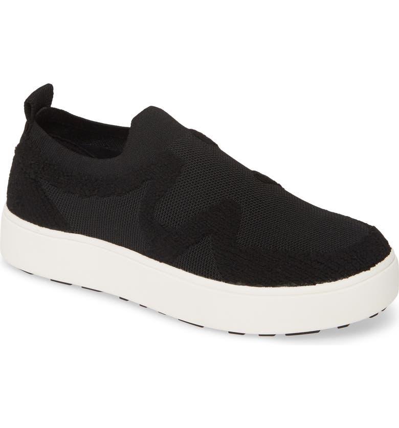 BERNIE MEV. Hikari Slip-On Sneaker, Main, color, BLACK FABRIC