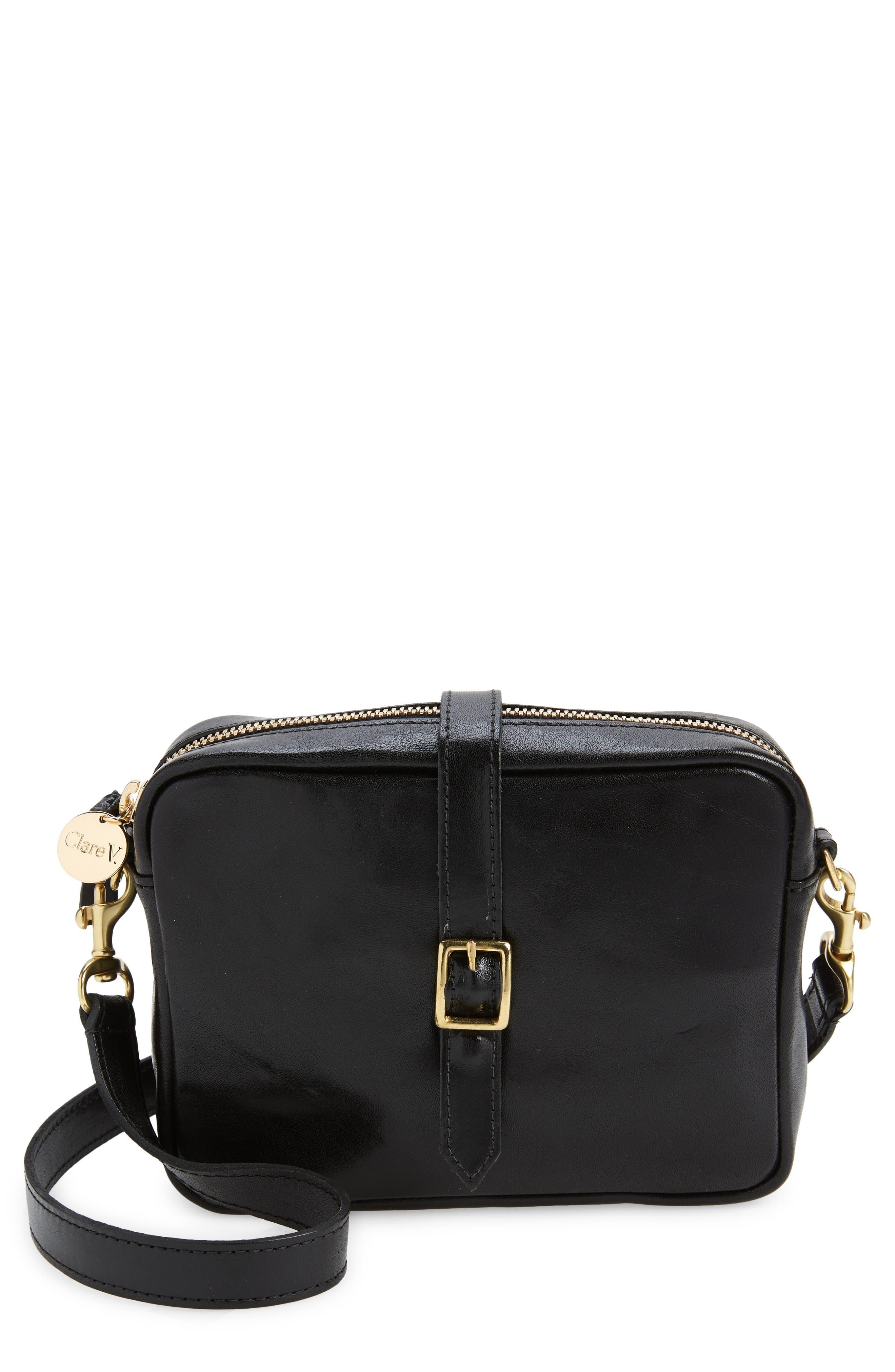 Gigi Calfskin Leather Convertible Crossbody Bag