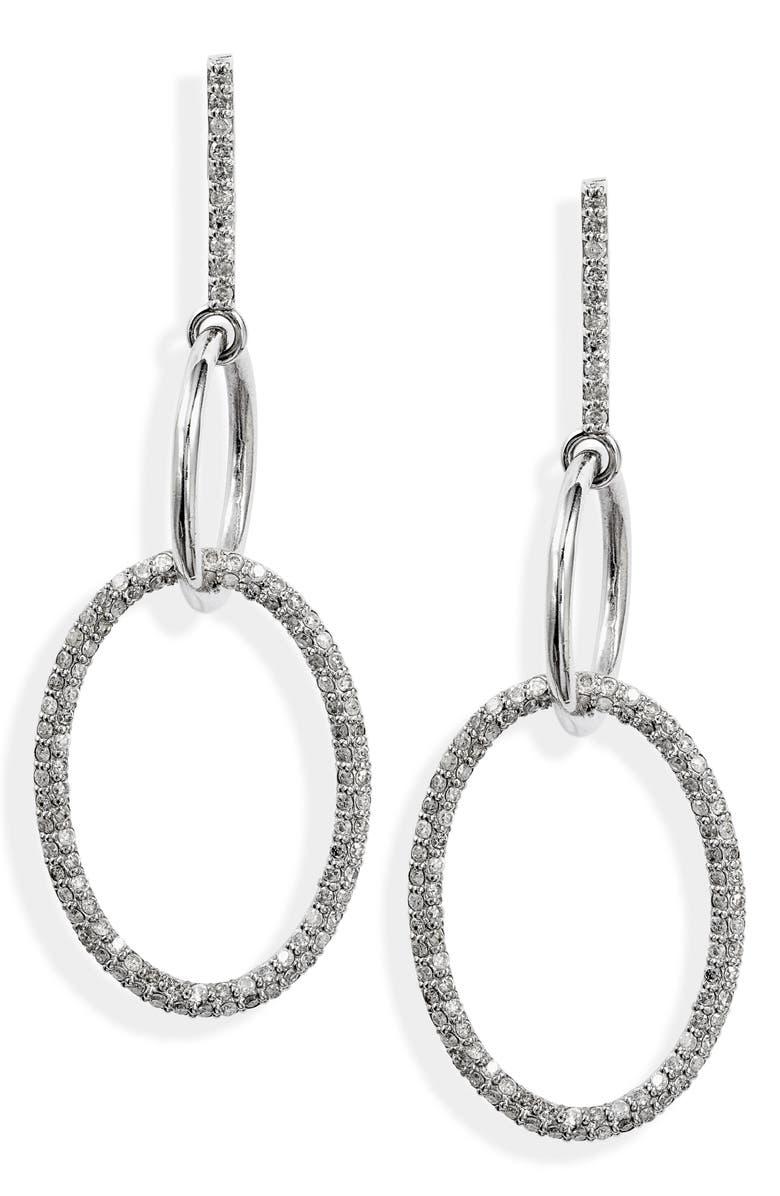 SHERYL LOWE Two Link Drop Earrings, Main, color, 040