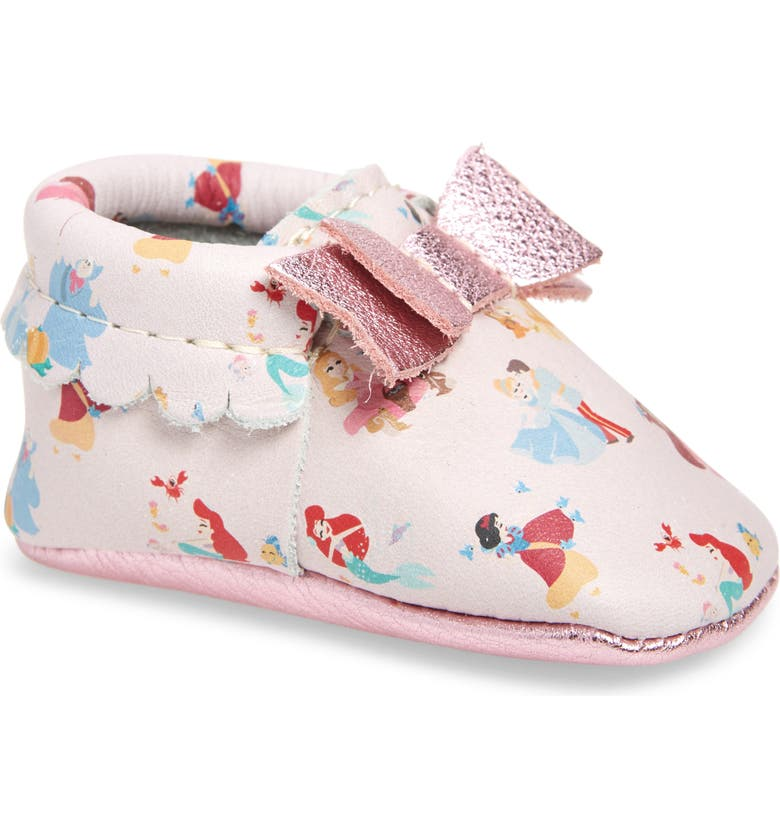 FRESHLY PICKED All Princesses Leather Moccasin, Main, color, PRINCESSES