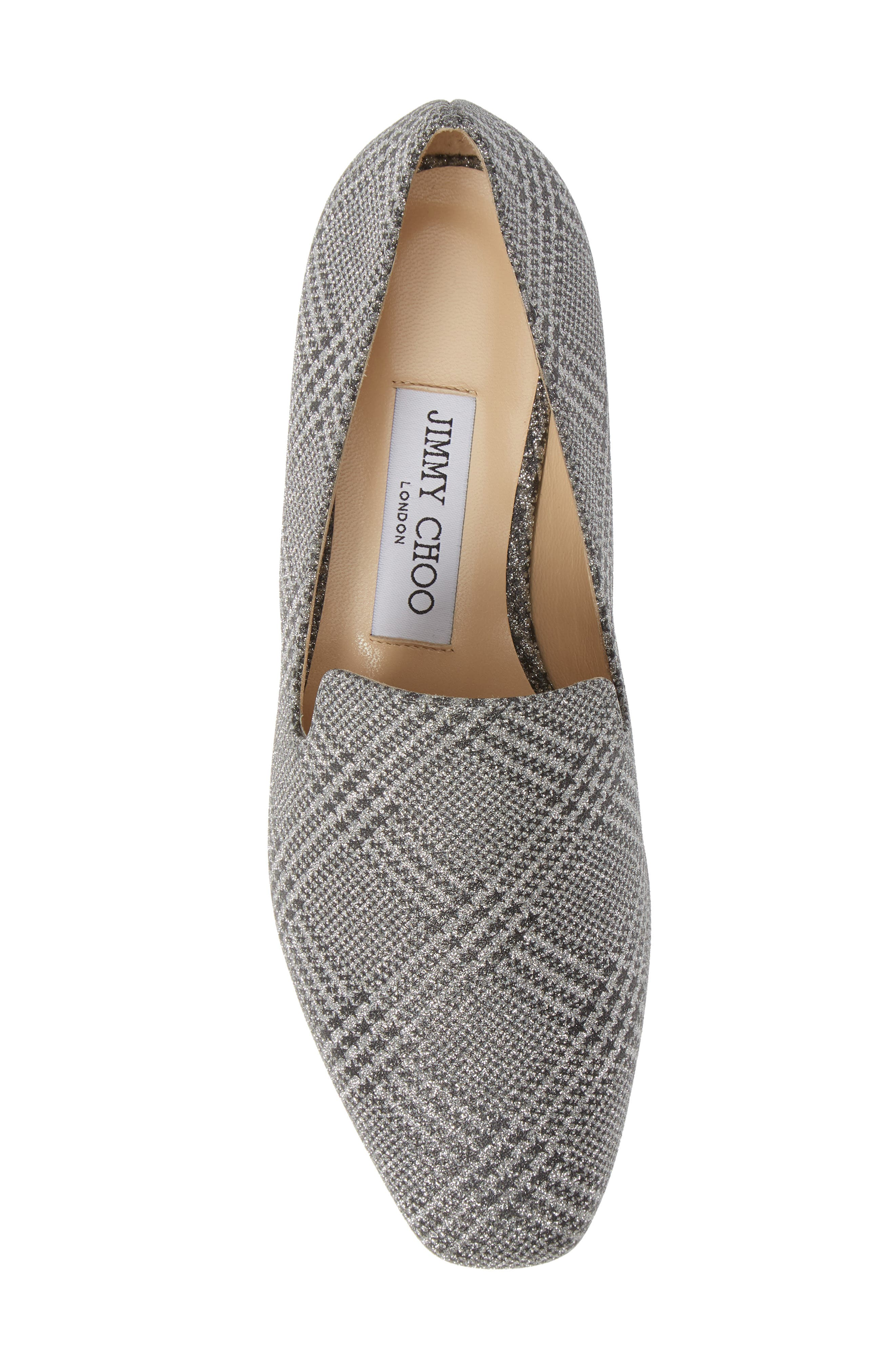 ,                             Jaida Loafer,                             Alternate thumbnail 5, color,                             SILVER