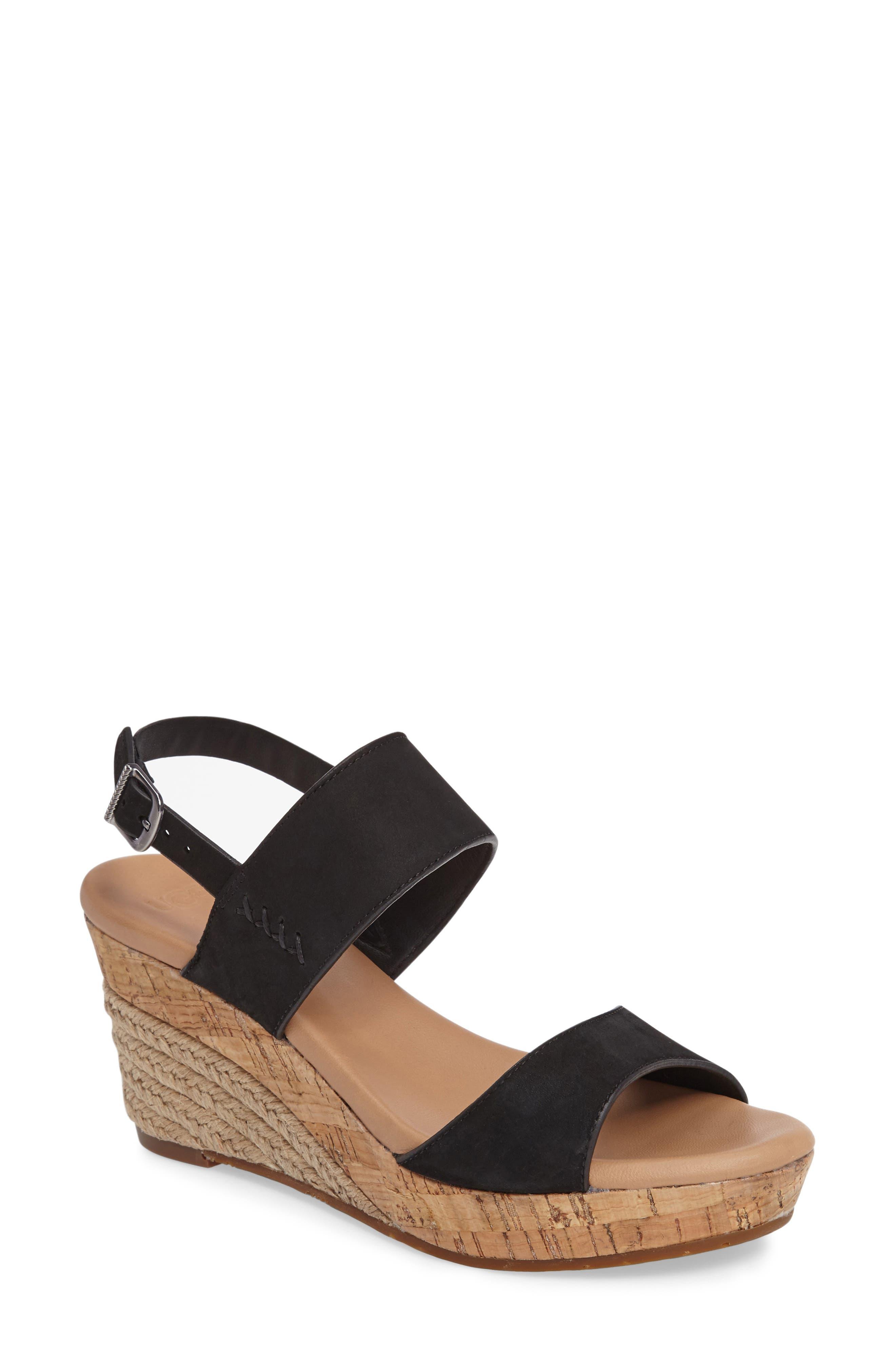 UGG | (R) Elena Platform Wedge Sandal