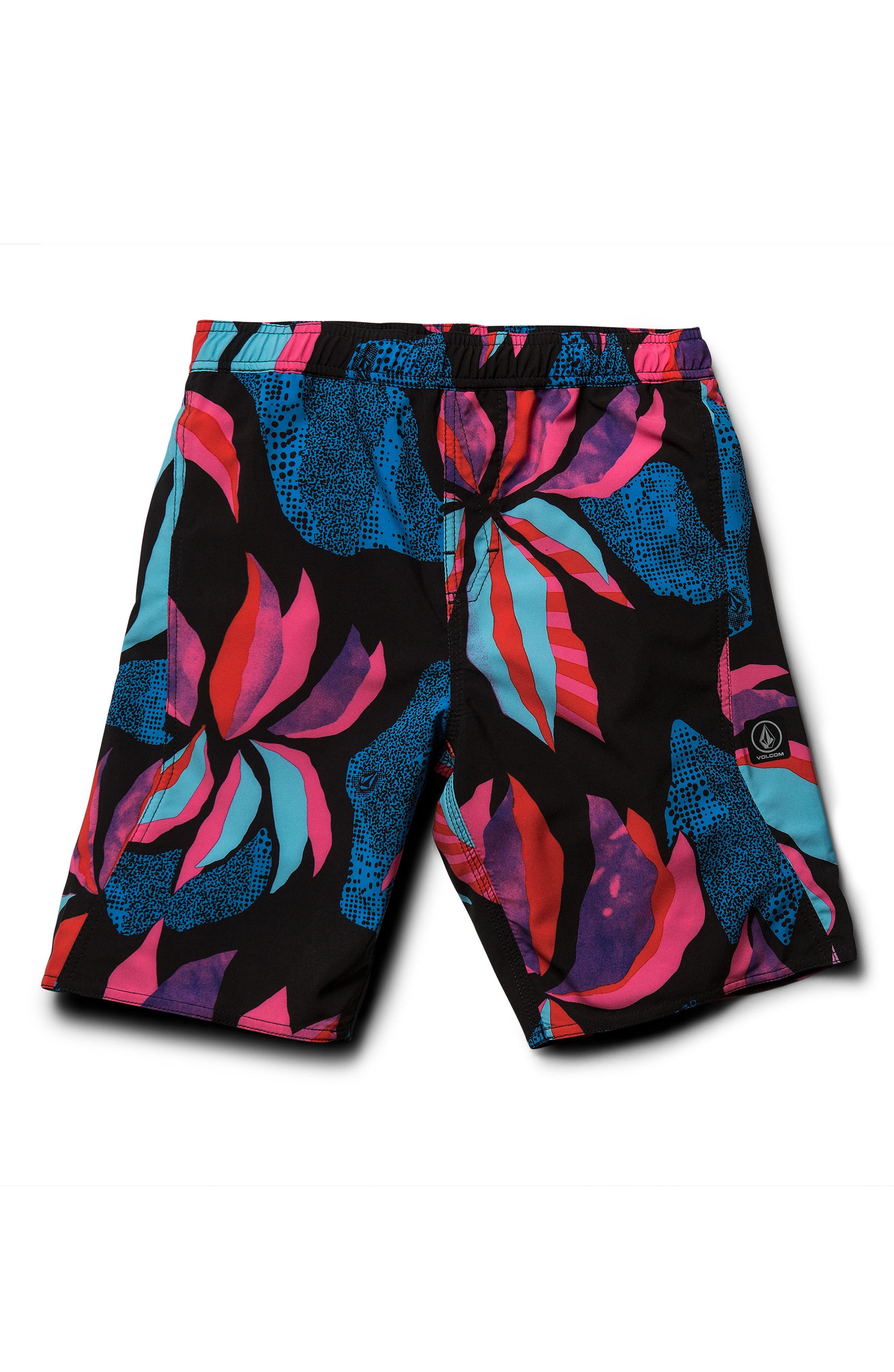 ee16a80e98 Boy's Volcom Garden Volley Swim Shorts