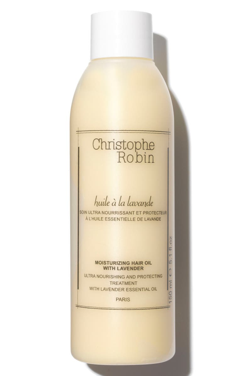 CHRISTOPHE ROBIN Moisturizing Hair Oil with Lavender, Main, color, NO COLOR