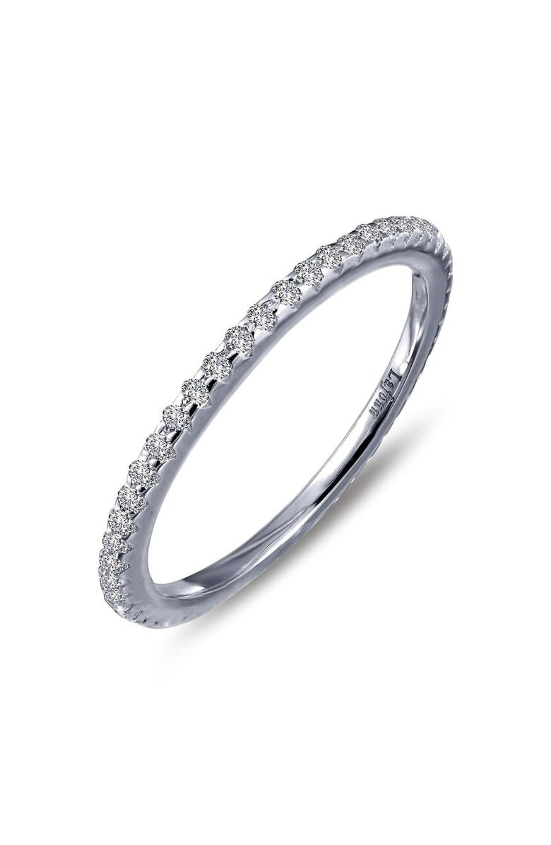 LAFONN Classic Eternity Band, Main, color, SILVER
