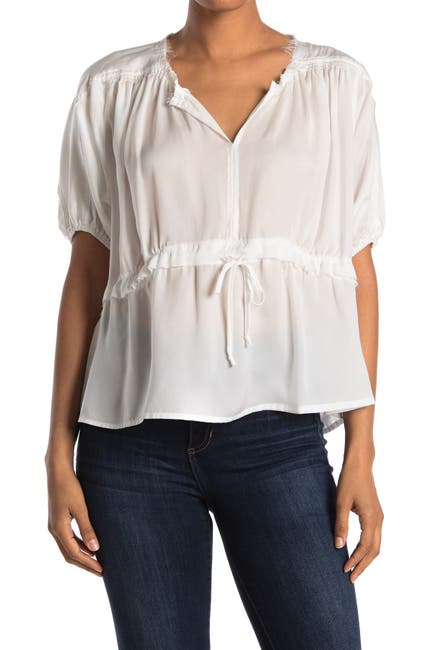 Image of Maisie Andie Satin Woven Top