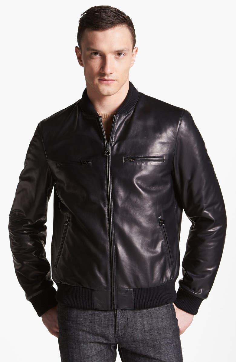 26de6e7c7 Salvatore Ferragamo 'Nappa Leather to Quilted Nylon' Reversible ...