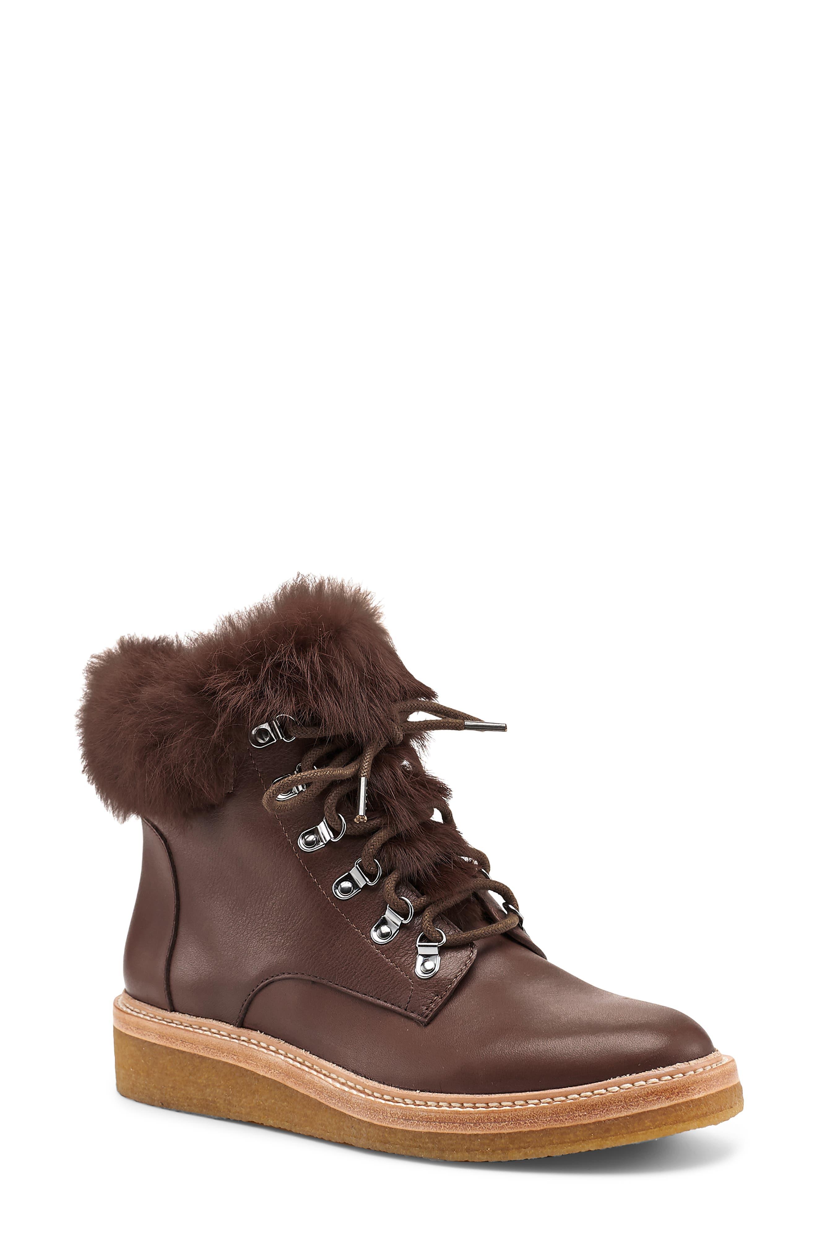 Winter Faux Fur Trim Boot