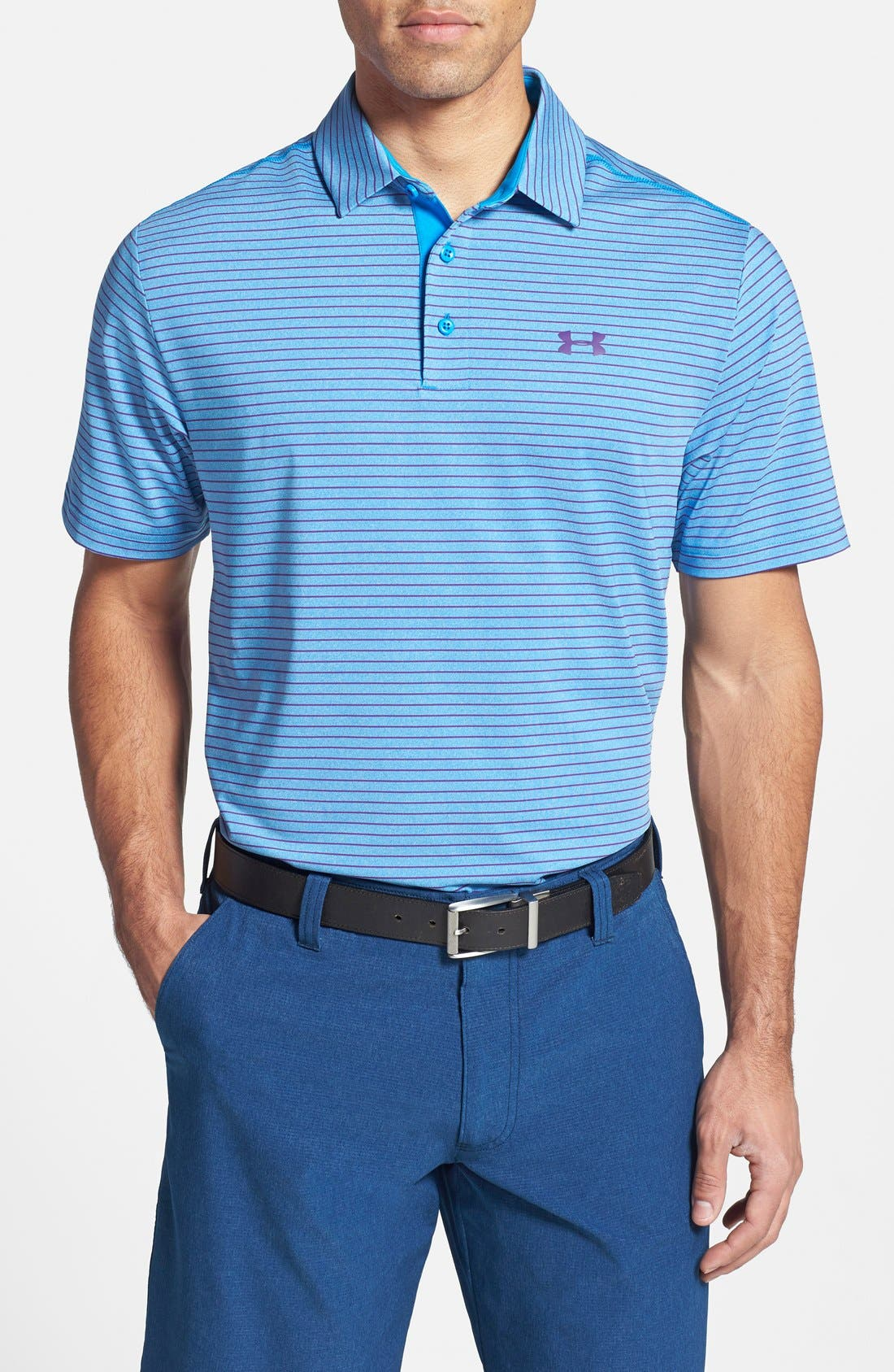 ,                             'Playoff' Loose Fit Short Sleeve Polo,                             Main thumbnail 211, color,                             407