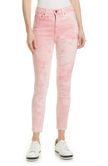 Image of Alice + Olivia Good High Waist Skinny Jeans