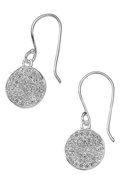 Ippolita STARDUST MINI FLOWER DIAMOND DROP EARRINGS