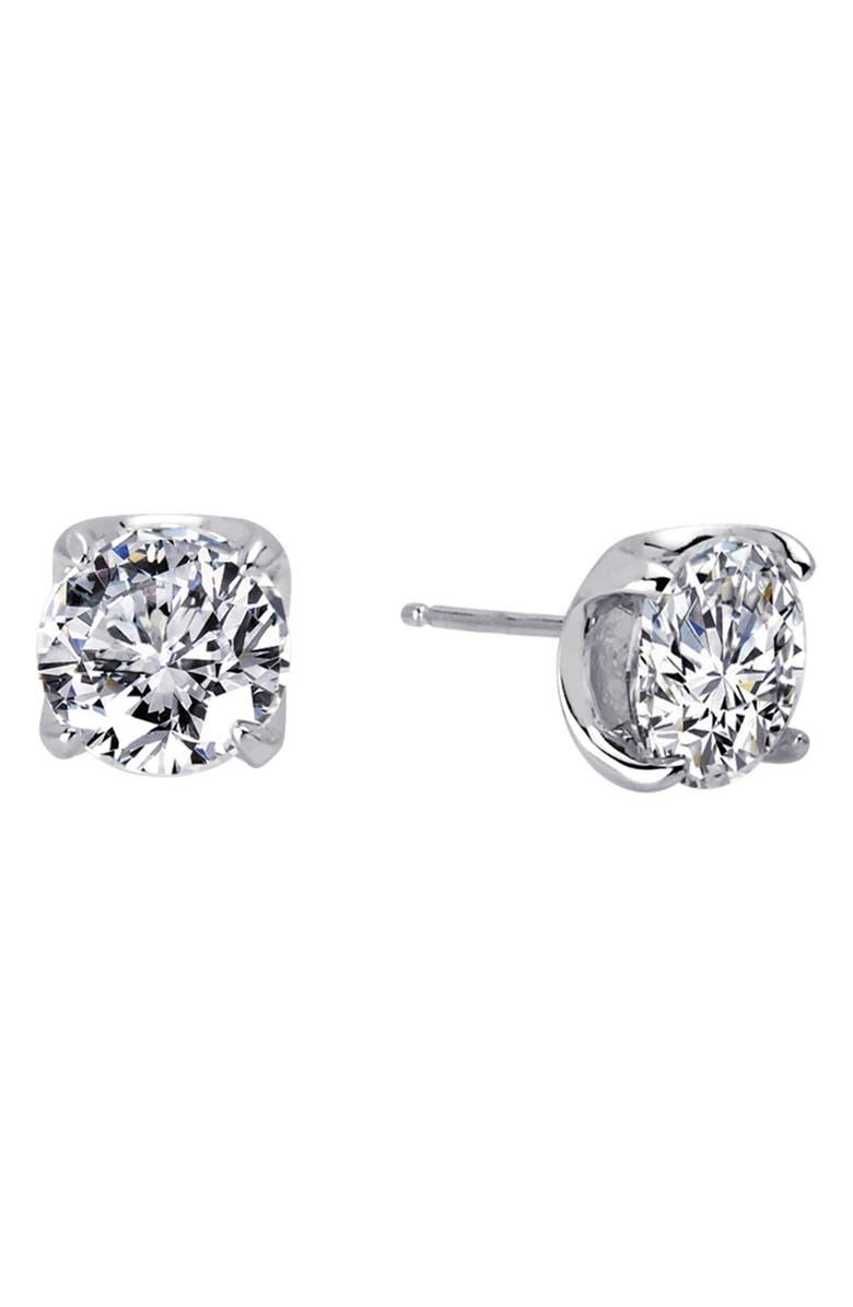LAFONN Simulated Diamond Stud Earrings, Main, color, 040