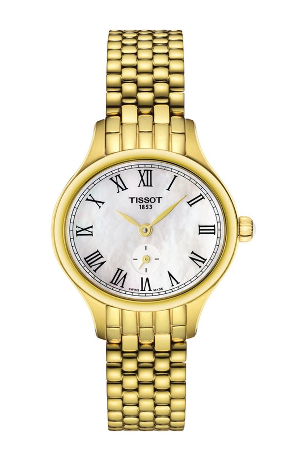 Image of Tissot Women's Bella Ora Piccola Swiss Quartz Watch, 24mm