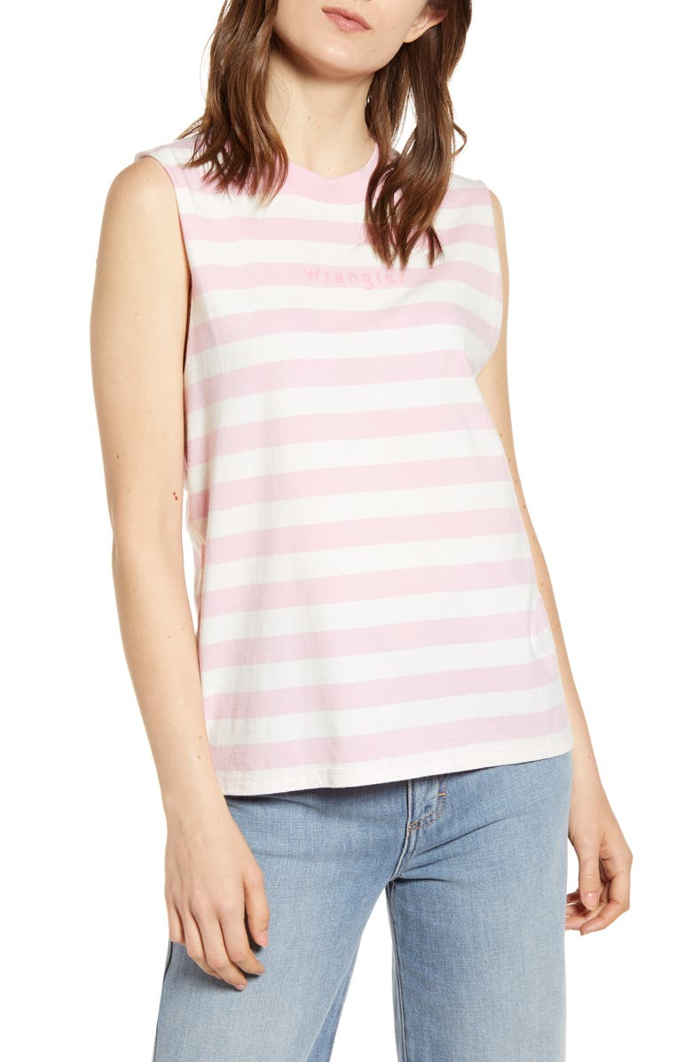 WRANGLER '80s Stripe Tank, Main, color, 650