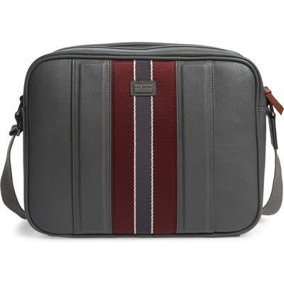 Ted Baker London Charder Messenger Bag - Grey