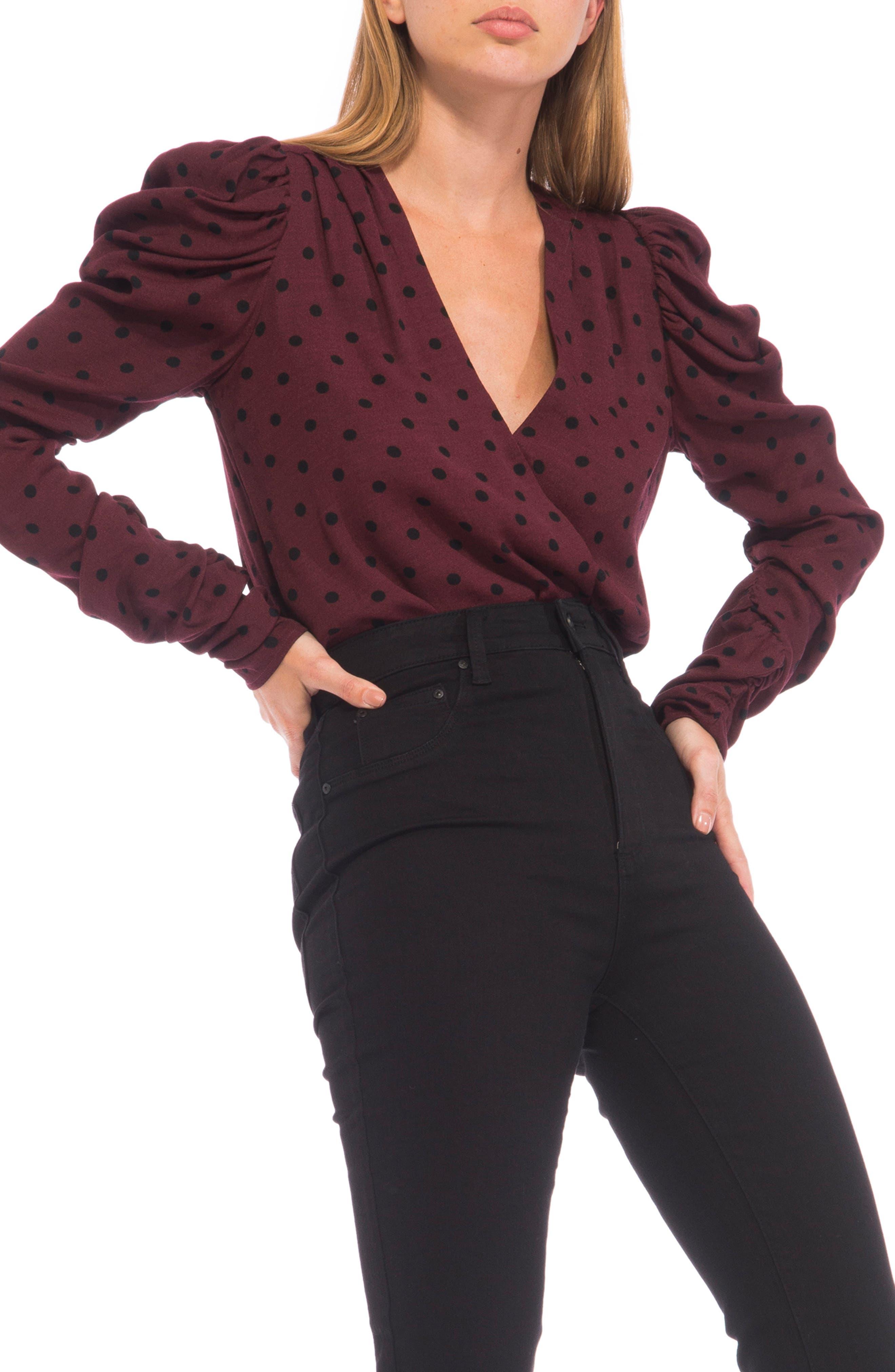 Danna Puff Long Sleeve Bodysuit