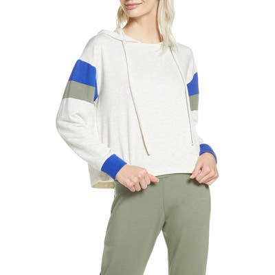 Project Social T Cooper Colorblock Lounge Hoodie, Grey