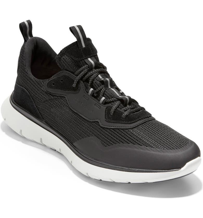 COLE HAAN ZeroGrand Trainer Sneaker, Main, color, BLACK/ NIMBUS CLOUD