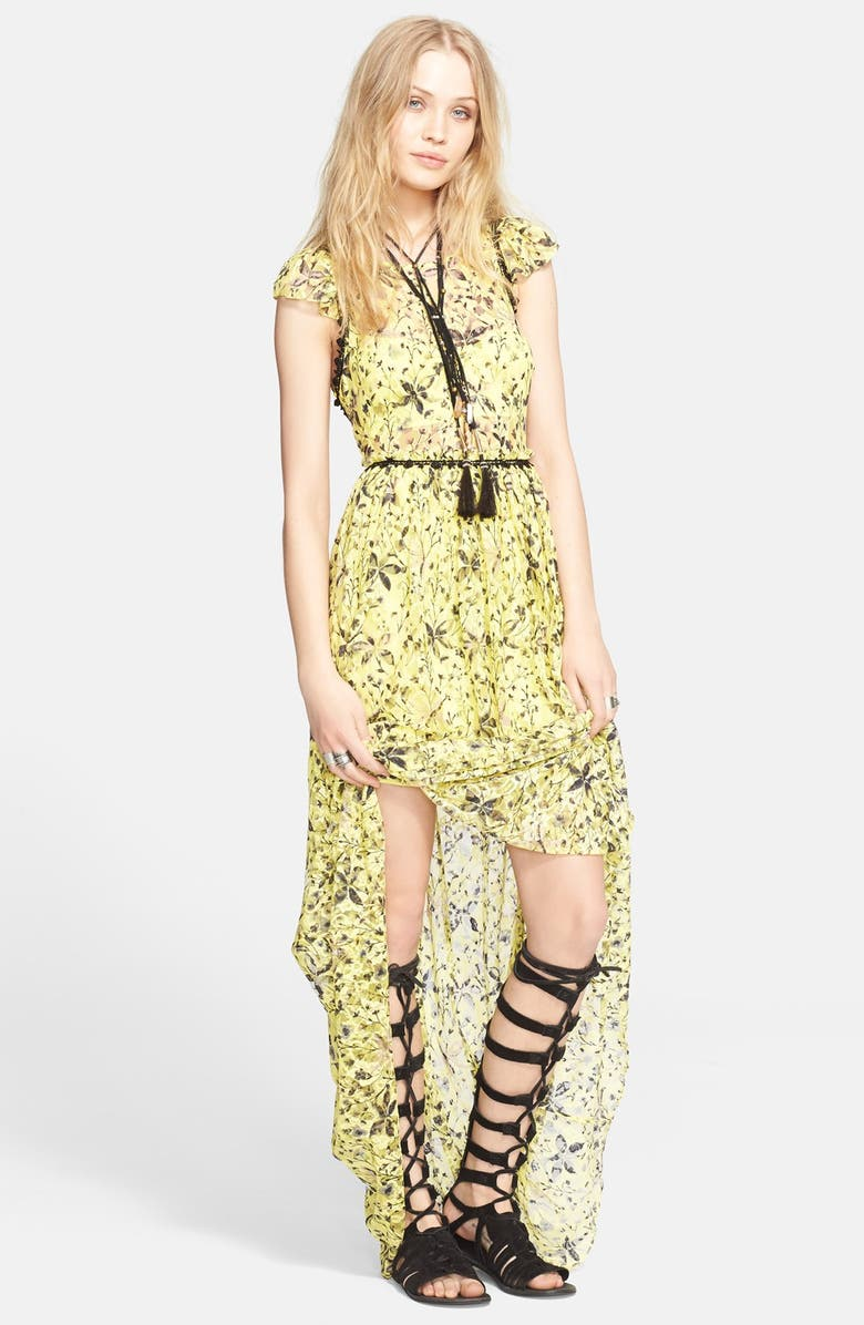 FREE PEOPLE Cherry Blossom Maxi Dress, Main, color, 700