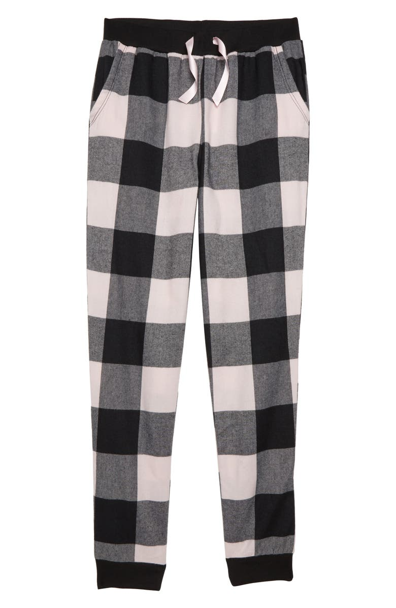 TUCKER + TATE Flannel Pajama Pants, Main, color, 001