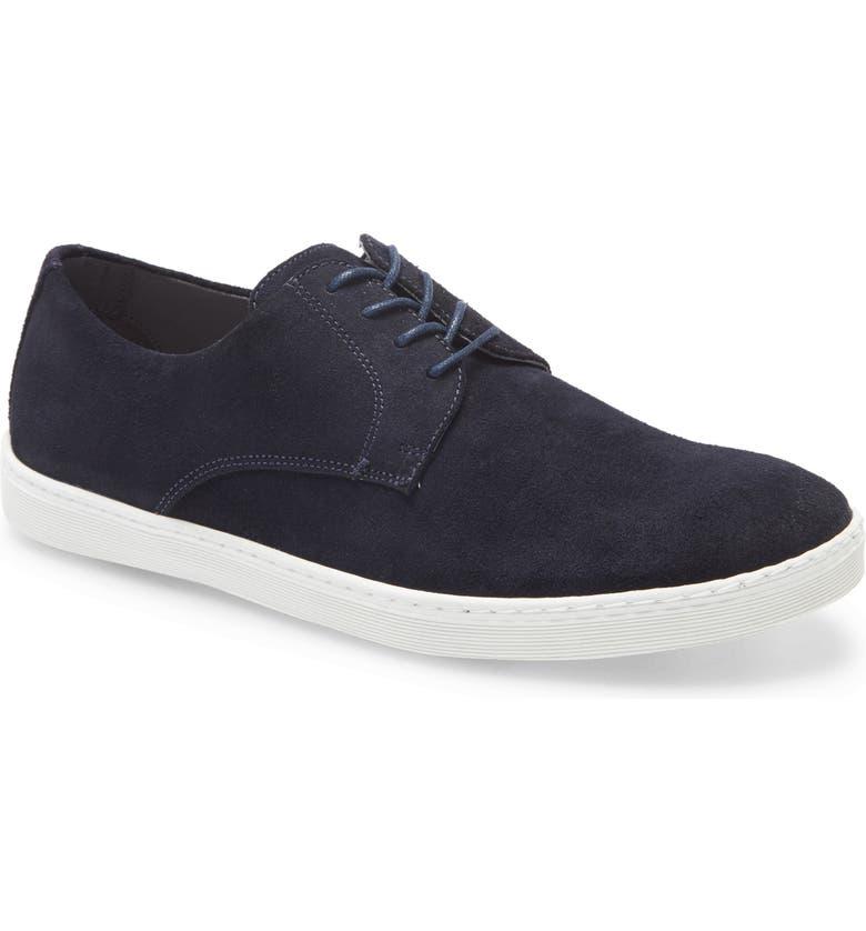 NORDSTROM MEN'S SHOP Torrance Sneaker, Main, color, NAVY SUEDE