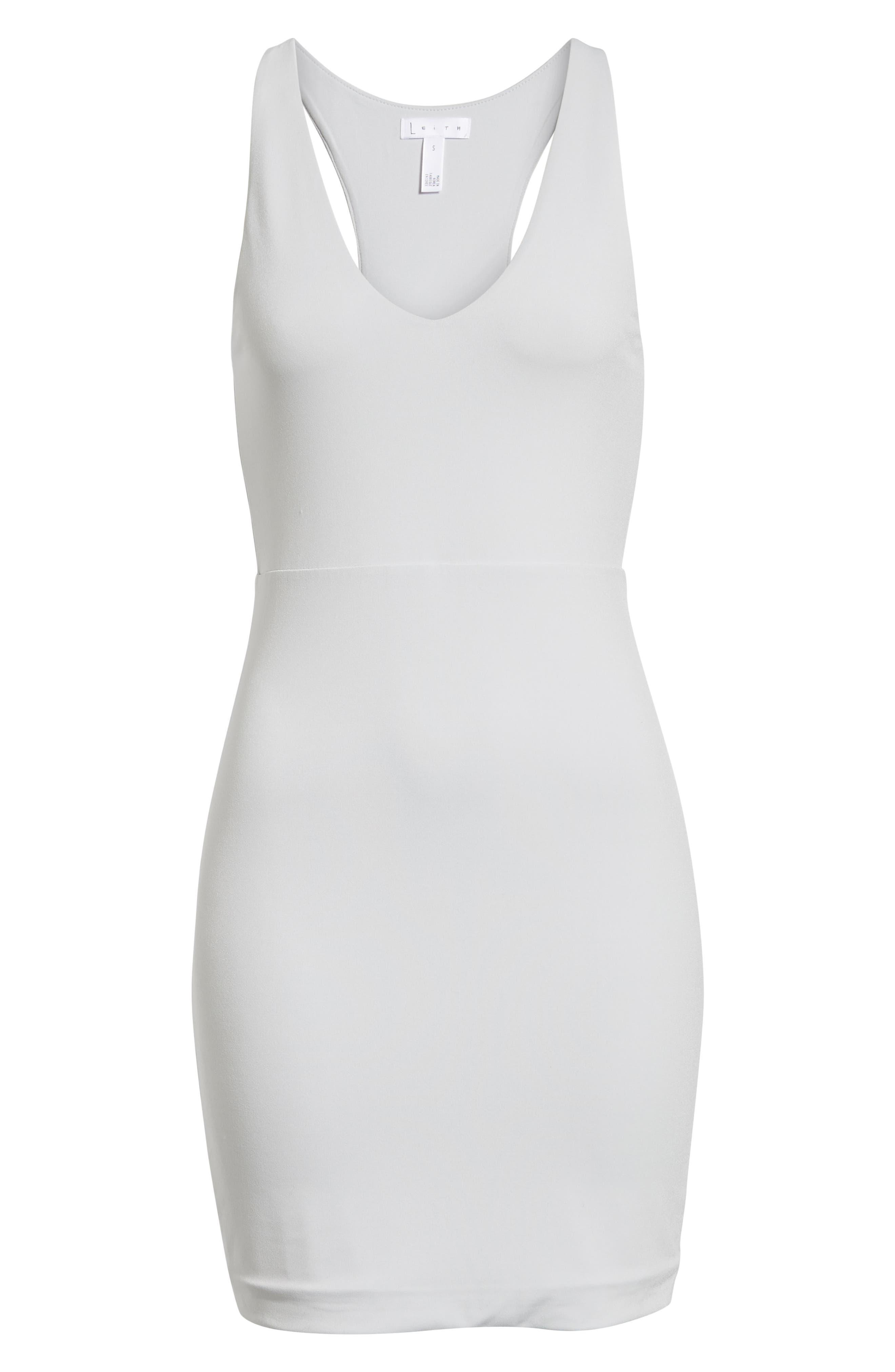 ,                             Racerback Body-Con Dress,                             Alternate thumbnail 13, color,                             050