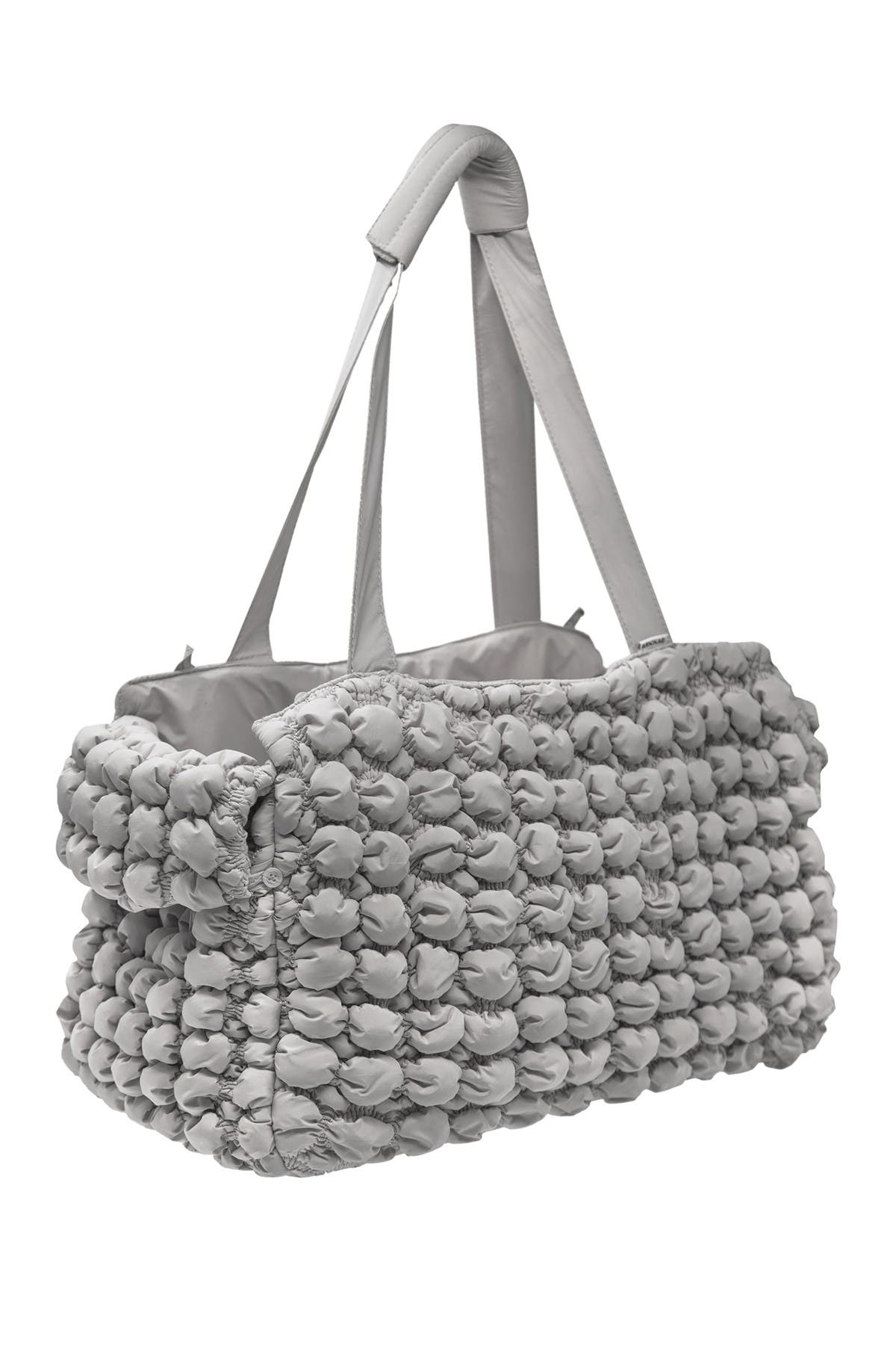 Image of Pet Life 'Bubble Vogue' Ultra-Plush Fashion Designer Pet Carrier