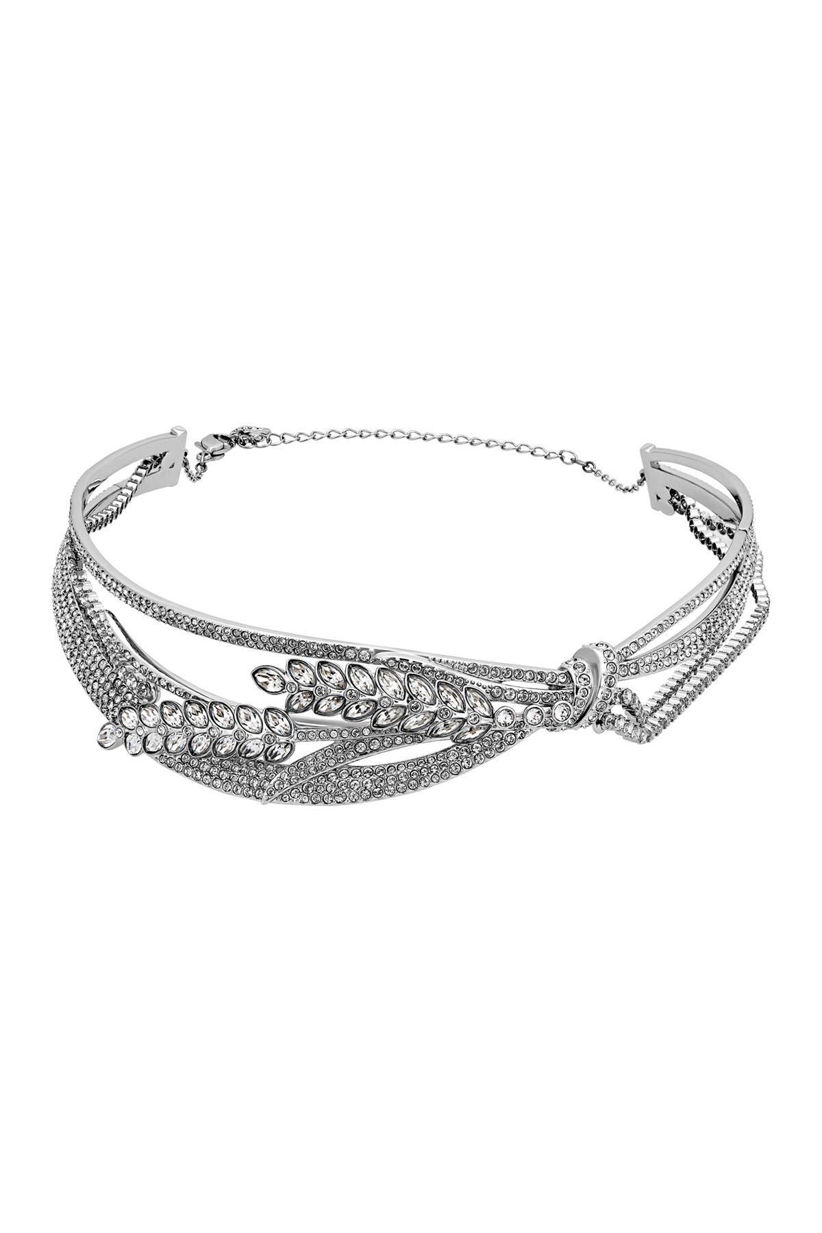 Image of Swarovski Lucia Pave Swarovski Crystal Choker Necklace