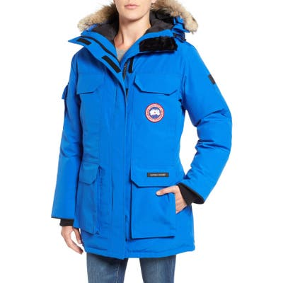 Canada Goose Pbi Expedition Hooded Down Parka With Genuine Coyote Fur Trim