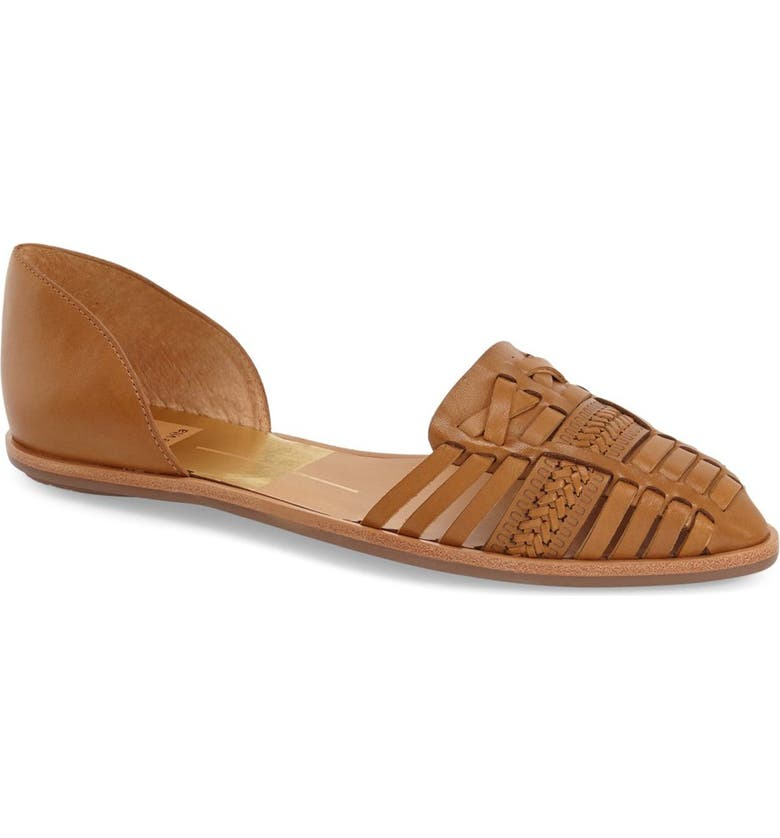 DOLCE VITA 'Lucilla' Woven Pointy Toe Flat, Main, color, 200