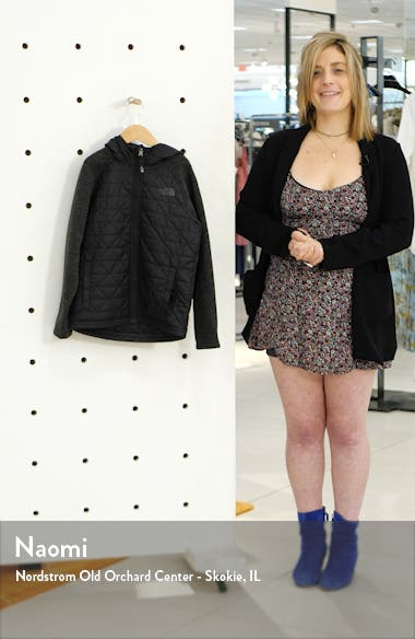 Quilted Sweater Fleece Jacket, sales video thumbnail