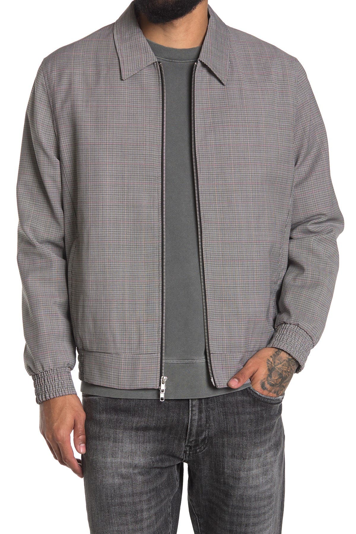 Image of OVADIA AND SONS McGregor Collared Wool Jacket