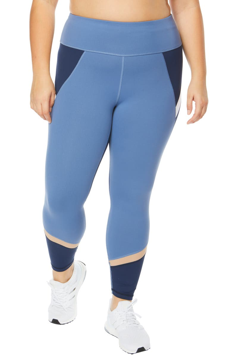 6da1cd04039ede SHAPE Activewear Endorphin Colorblock Capri Leggings (Plus Size ...