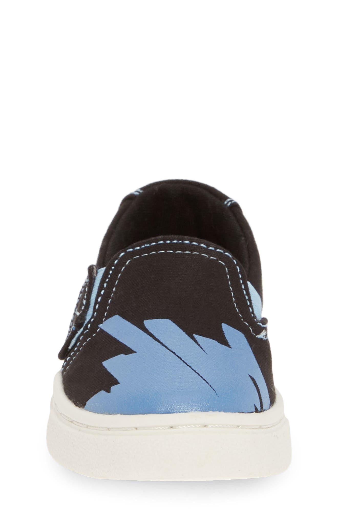 ,                             Luca Slip-On Sneaker,                             Alternate thumbnail 4, color,                             BLACK