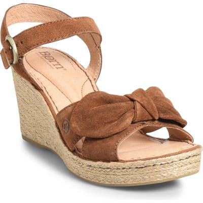 B?rn Monticello Knotted Wedge Sandal