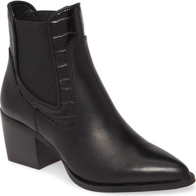Steve Madden Alesso Pointed Toe Bootie, Black