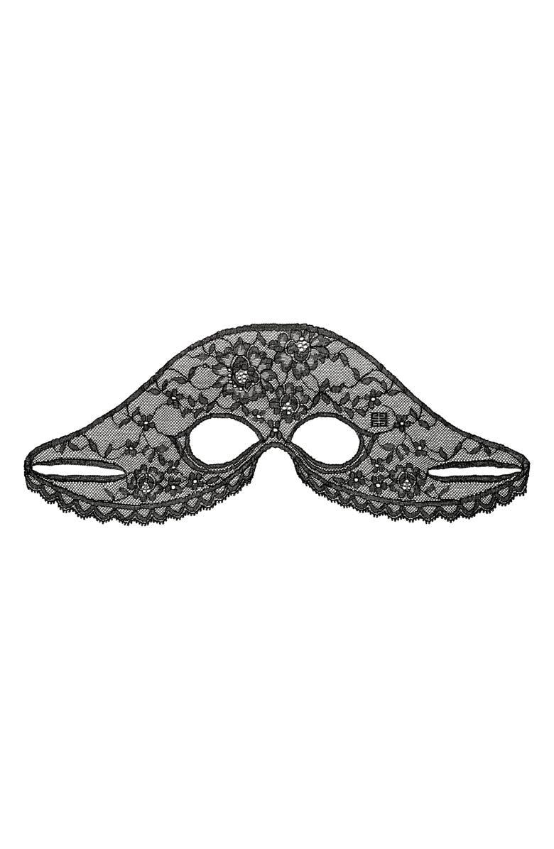 GIVENCHY Le Soin Noir Lace Eye Mask, Main, color, NO COLOR
