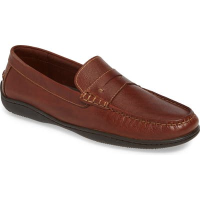 Johnston & Murphy Fowler Penny Loafer, Brown