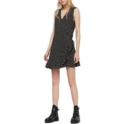Allsaints Krystal Wrap Dress, Black