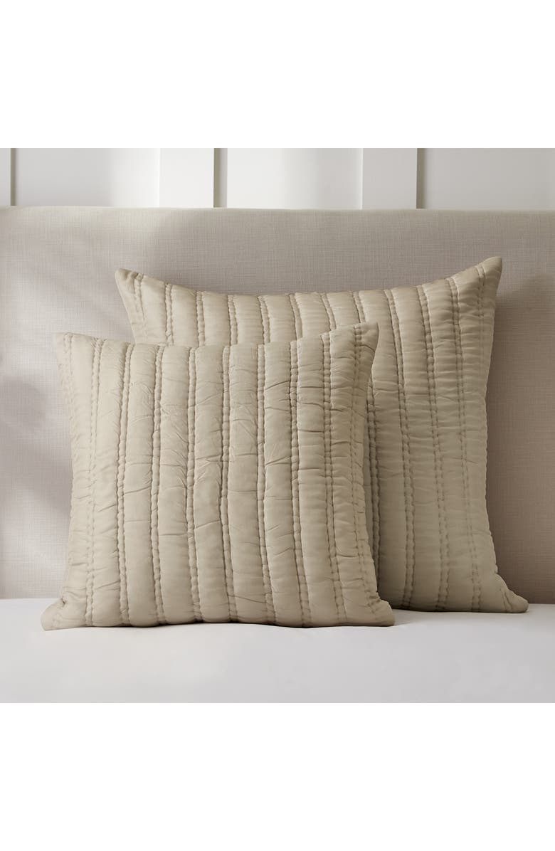 THE WHITE COMPANY Elgin Cushion Cover, Main, color, OYSTER