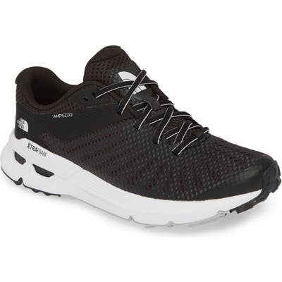 The North Face Ampezzo Running Shoe- Black