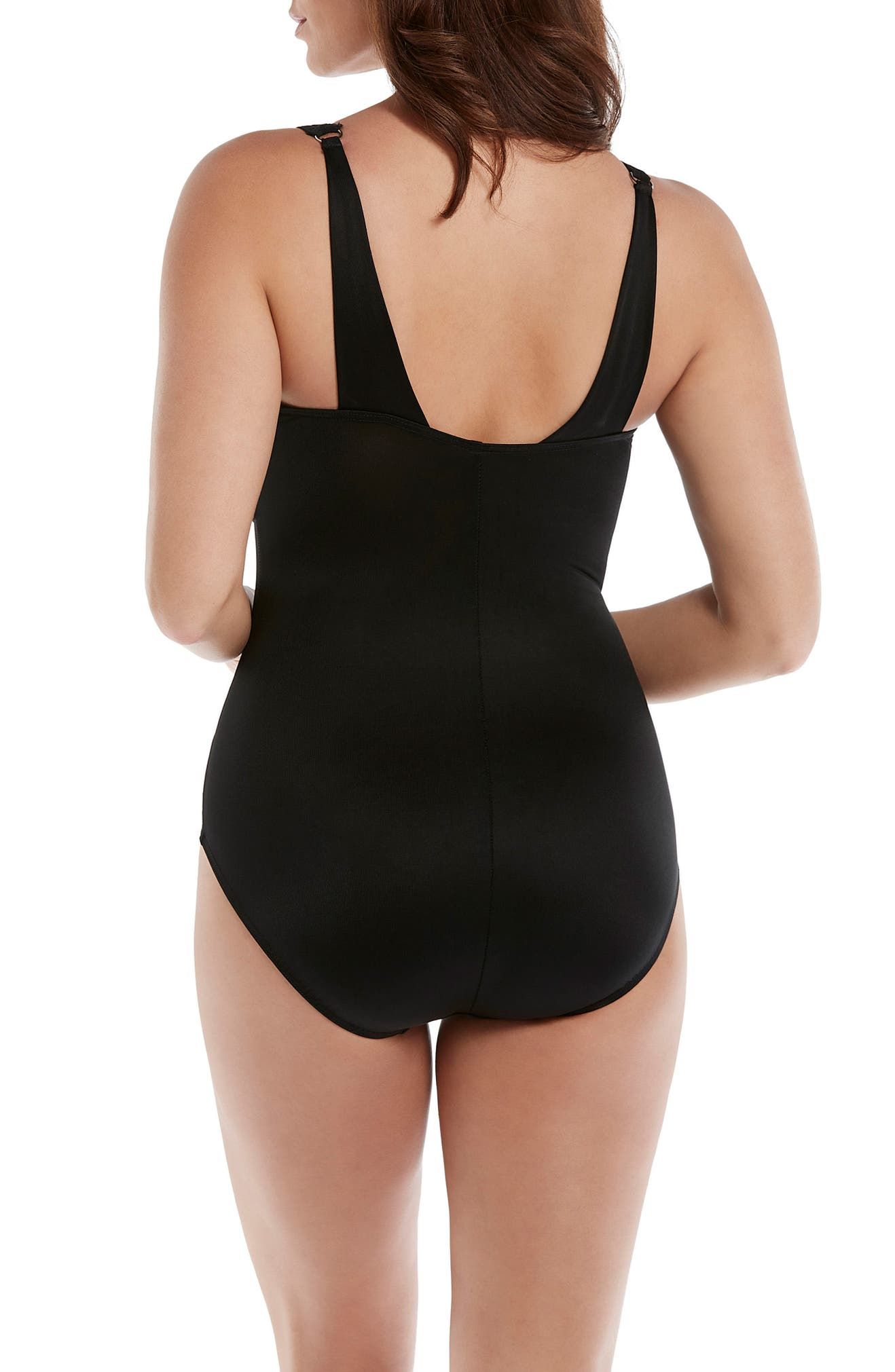 c8e4e951da Miraclesuit® Illusionists Azura Underwire One-Piece Swimsuit | Nordstrom