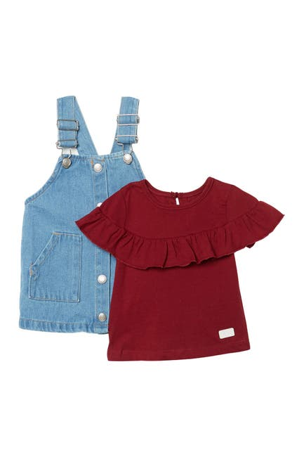 Image of 7 For All Mankind Top & Overalls