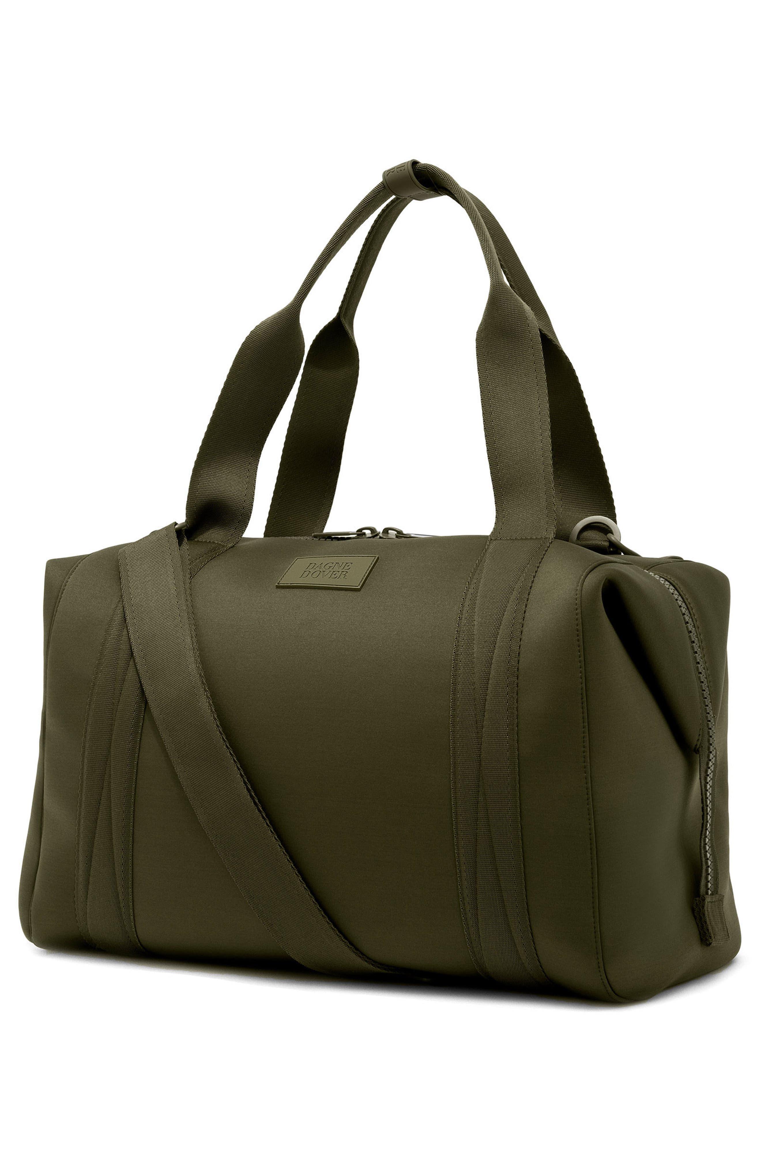 ,                             365 Large Landon Neoprene Carryall Duffle Bag,                             Alternate thumbnail 4, color,                             DARK MOSS