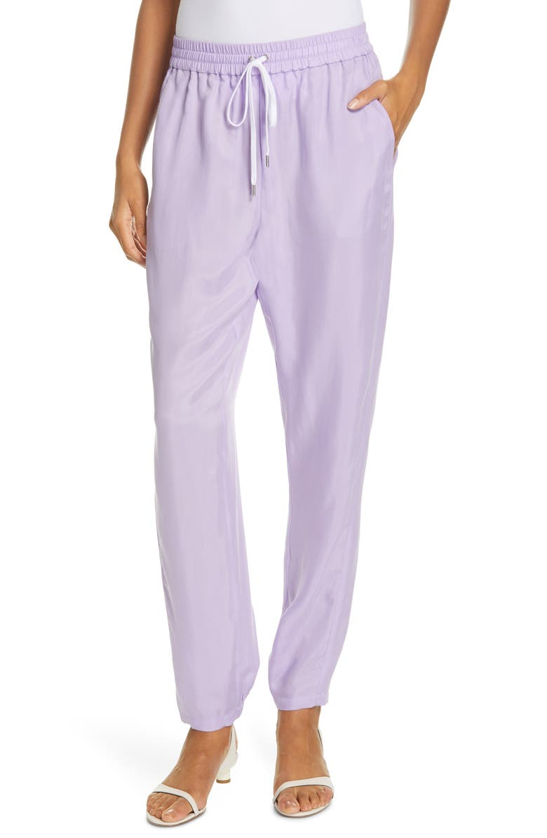TIBI Drawstring Jogger Pants, Main, color, 531