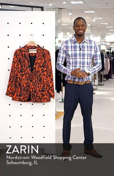 Leopard Print Suit Jacket, sales video thumbnail