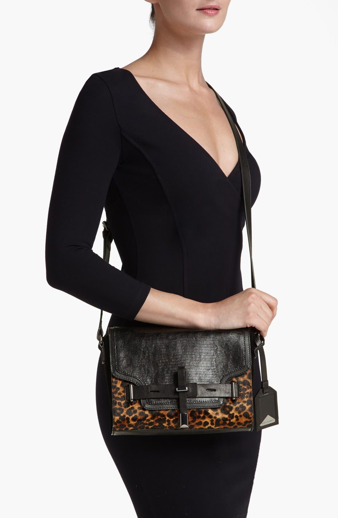 ,                             'Max' Leather Crossbody Bag,                             Alternate thumbnail 7, color,                             019